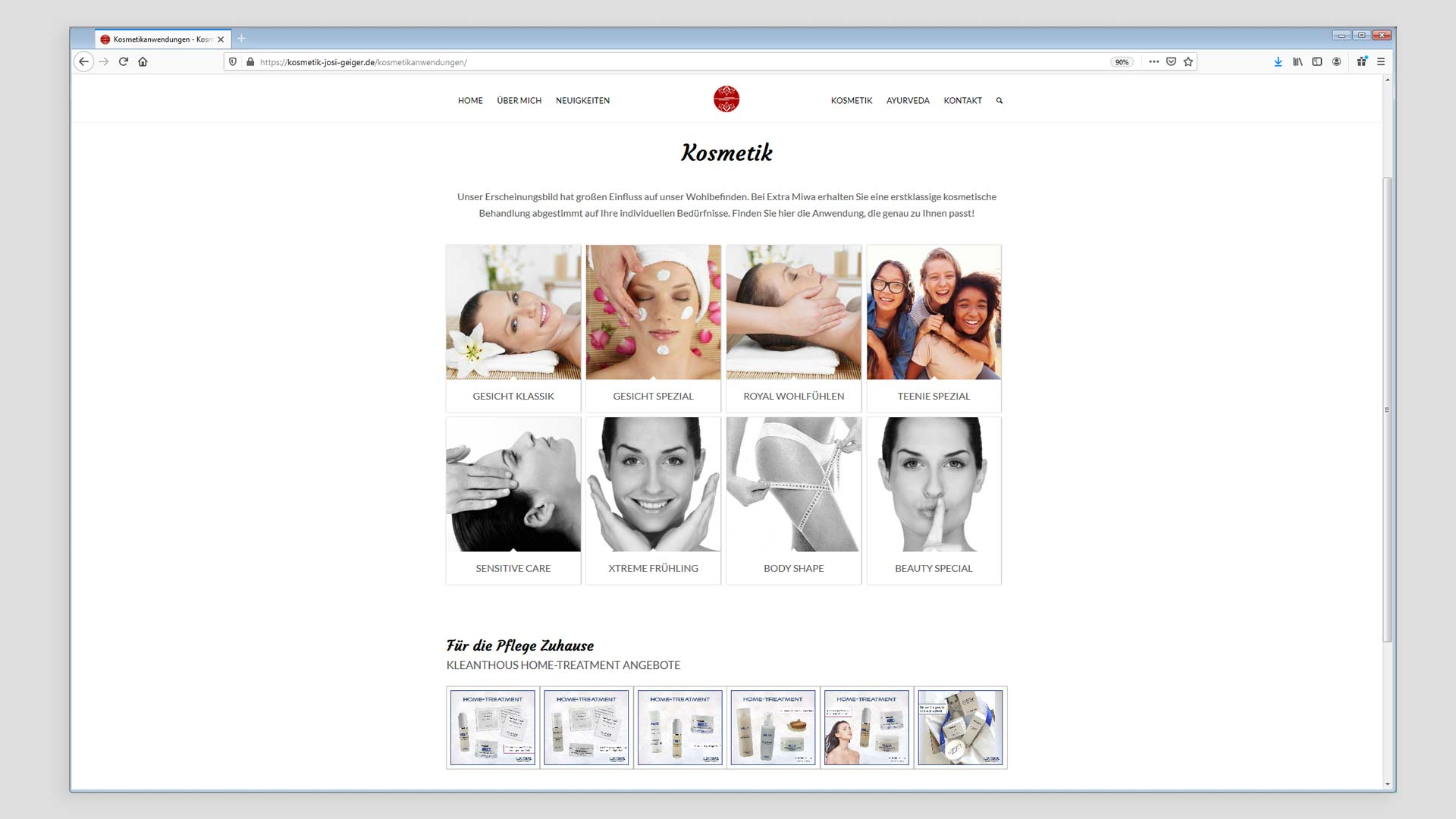 Extra Miwa Praxis-Website