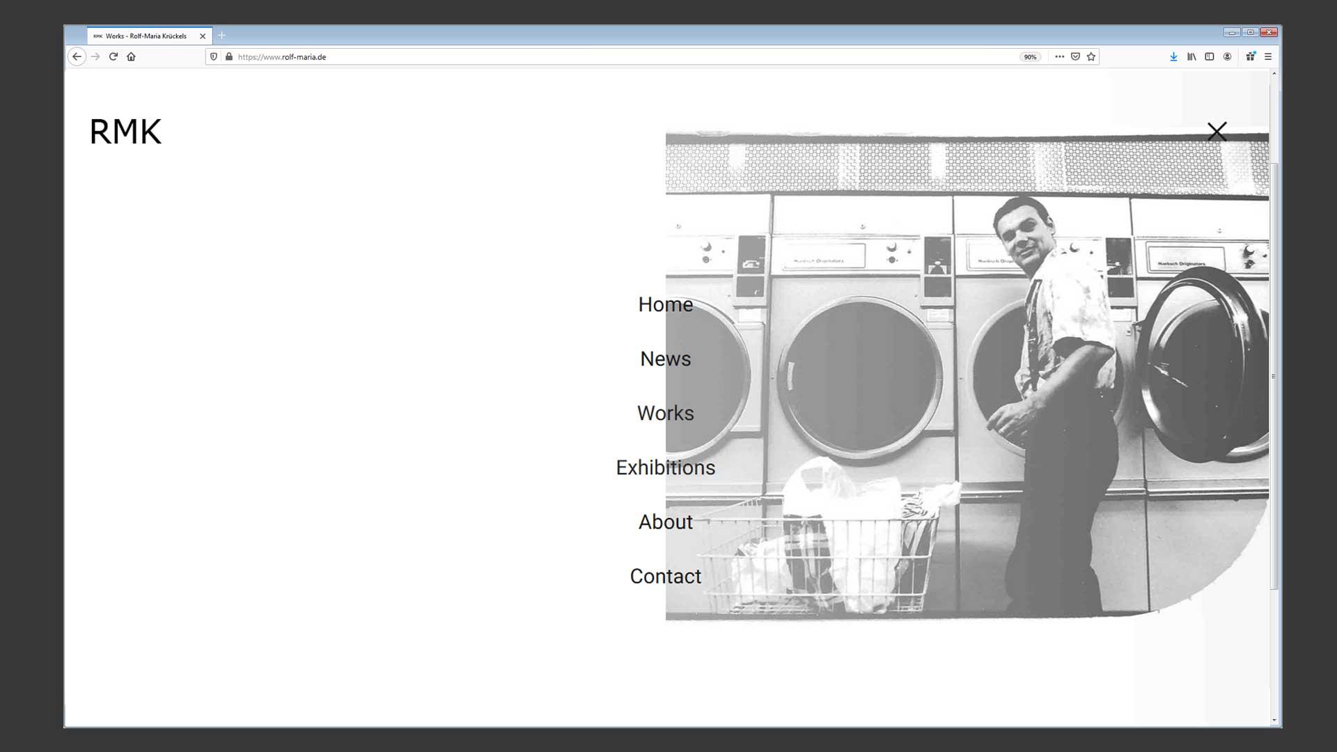 Portfolio-Website Rolf-Maria